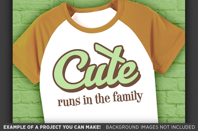 Cute Runs In The Family Svg - Cute SVG - Family SVG - 1024 example image 3