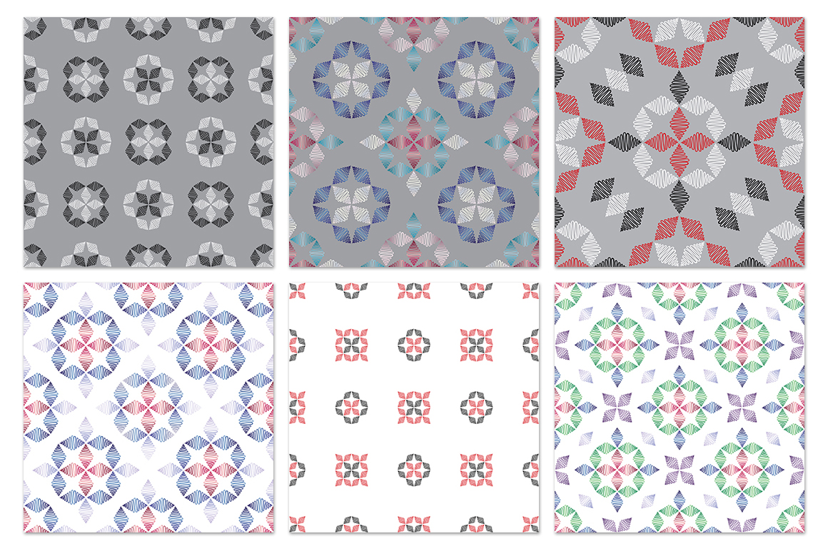 55 ornaments patterns collection example image 4