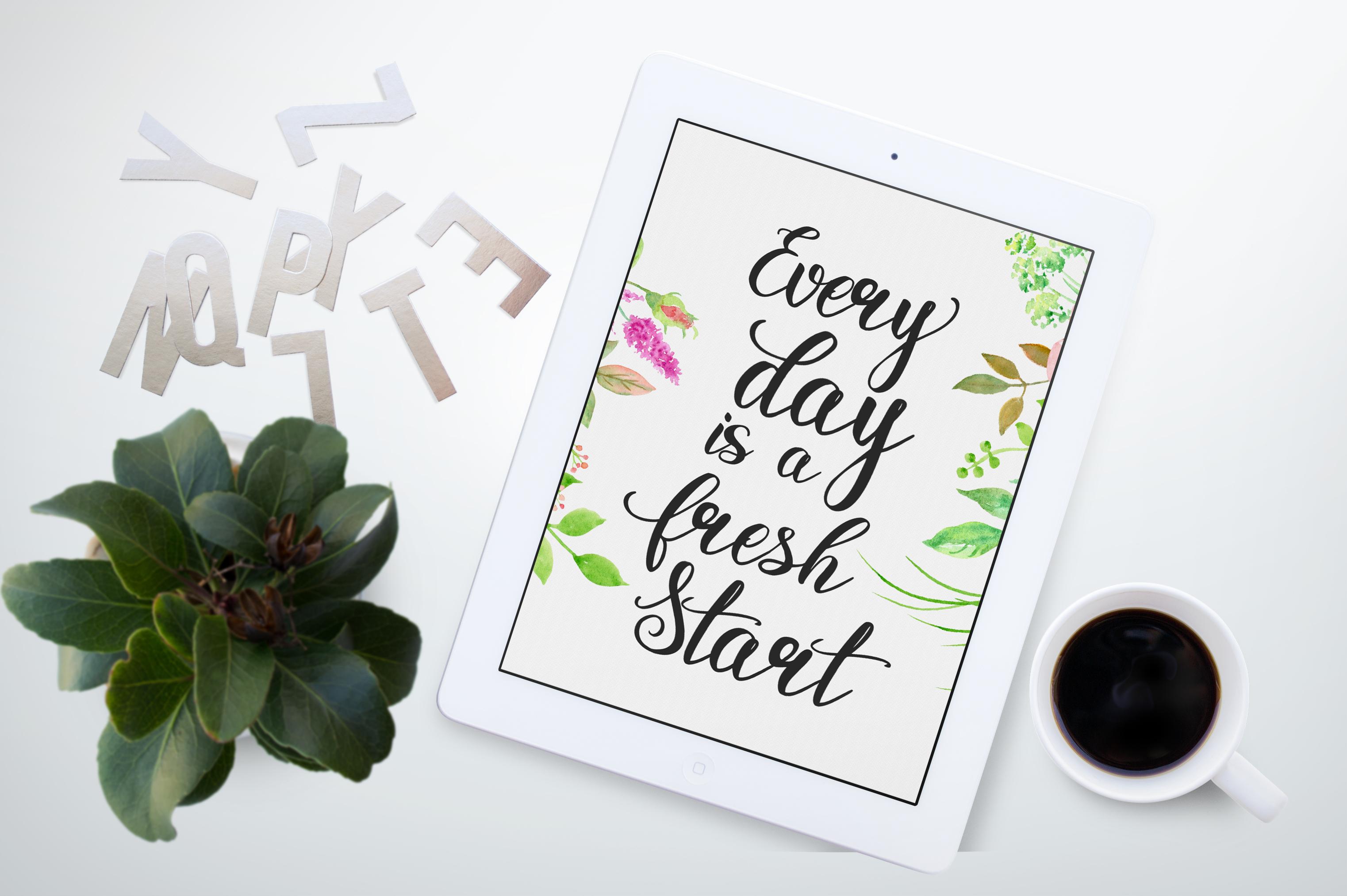 Rosita script - stylish brush font example image 7