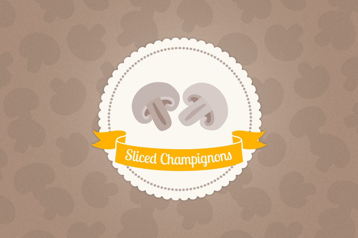 Sliced Champignons example image 3