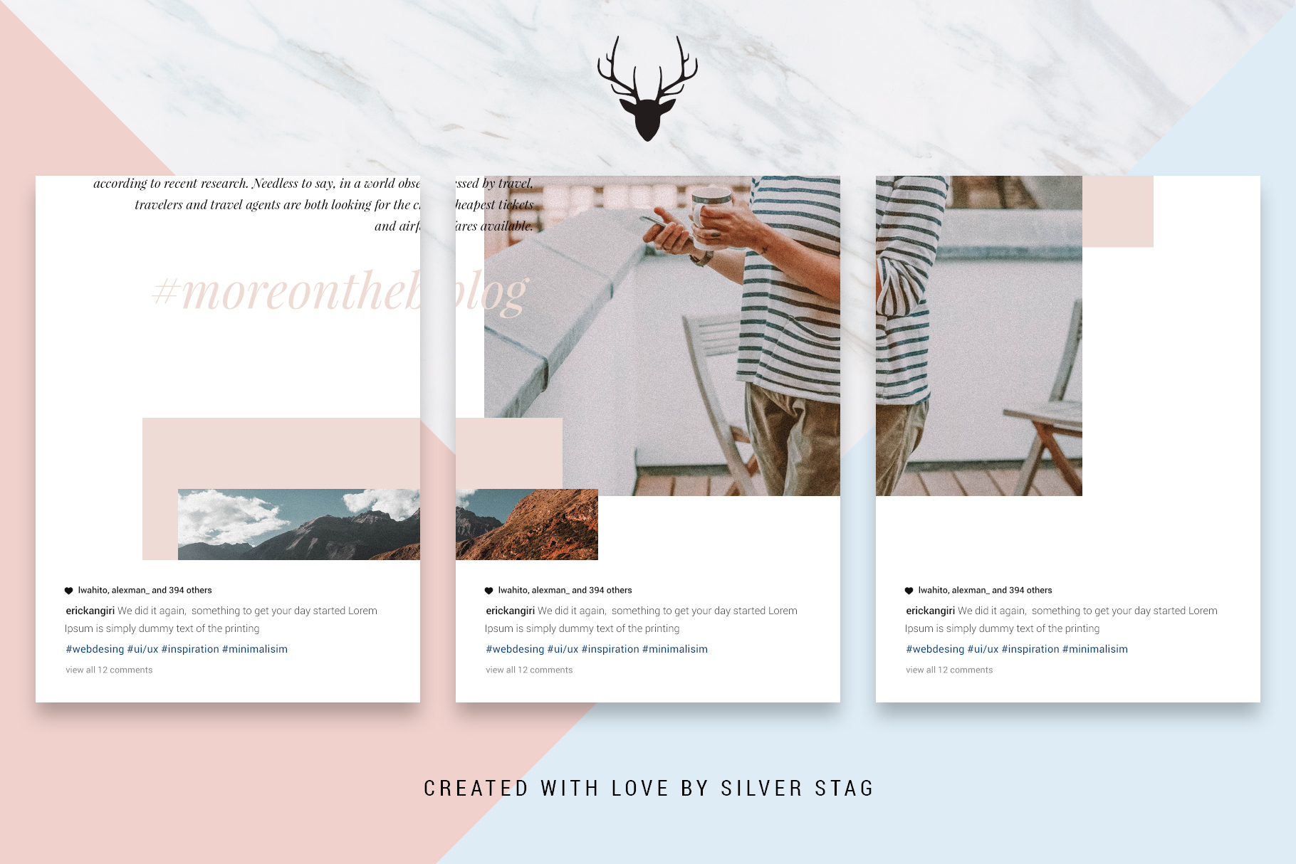 #InstaGrid 1.0 - Instagram Canva Puzzle Template example image 10