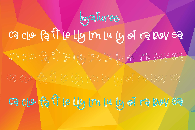 The Basic Font Bundle example image 13