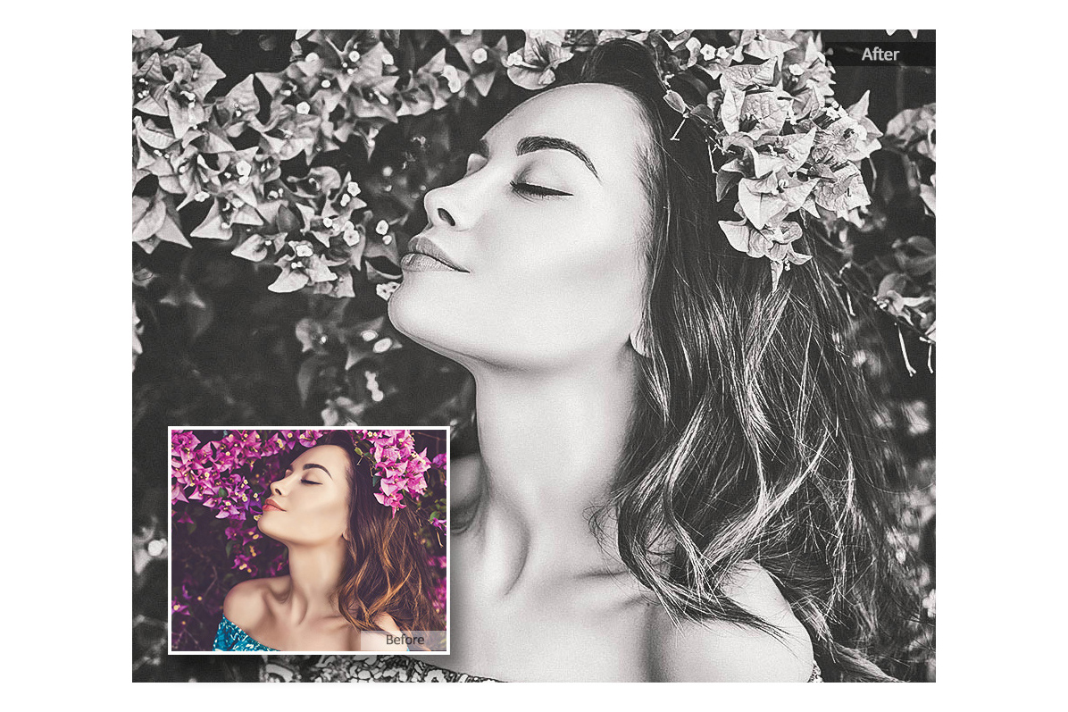 Black White Lightroom Mobile Presets Adroid and Iphone/Ipad example image 3