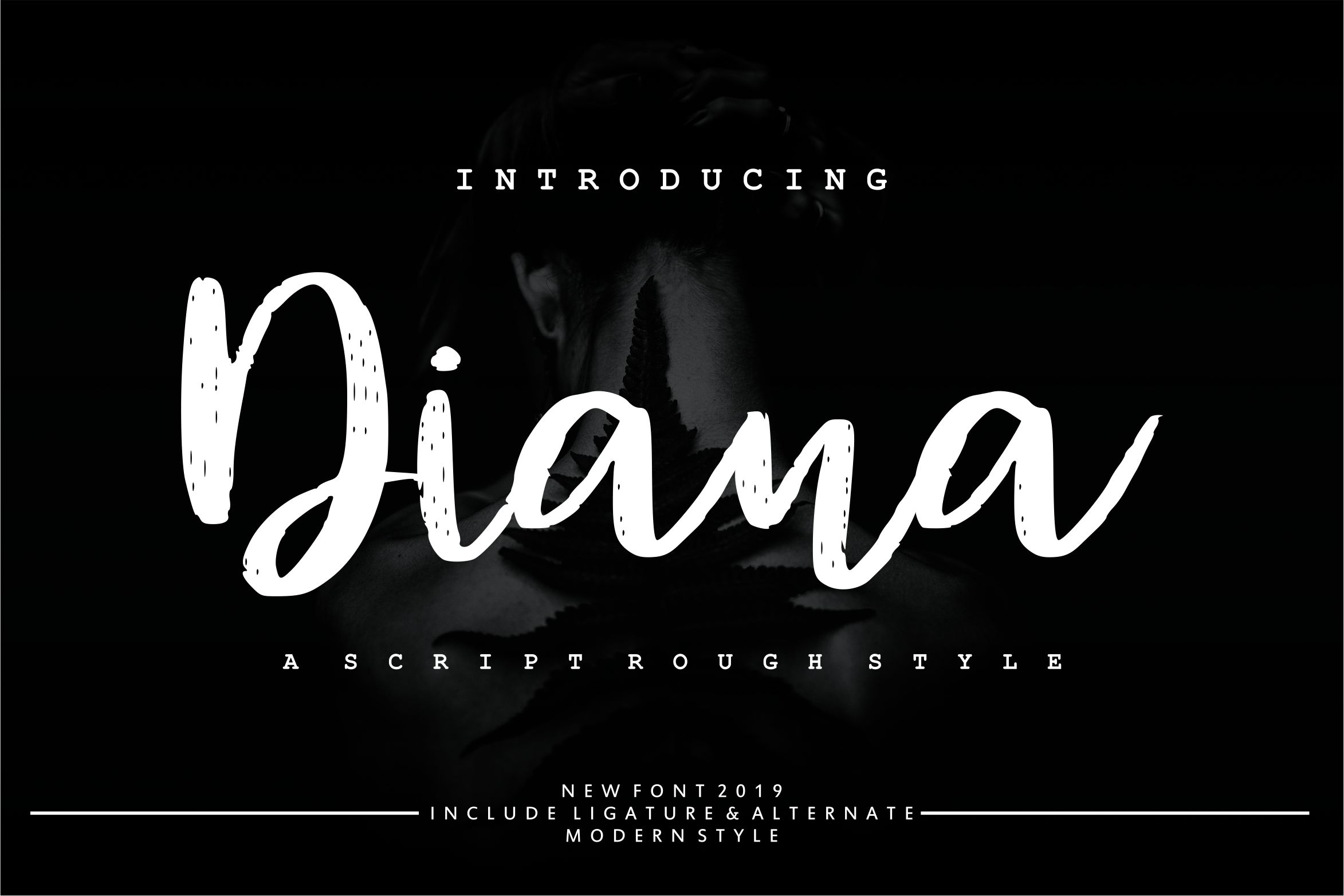 Diana Rough | Script Rough Style example image 1