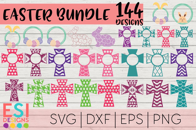 Easter Mega Bundle| Easter Bunny | SVG DXF EPS PNG example image 7