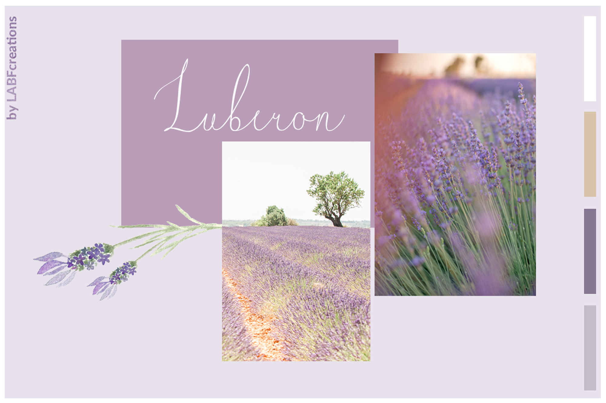 Luberon. Fine art script example image 4