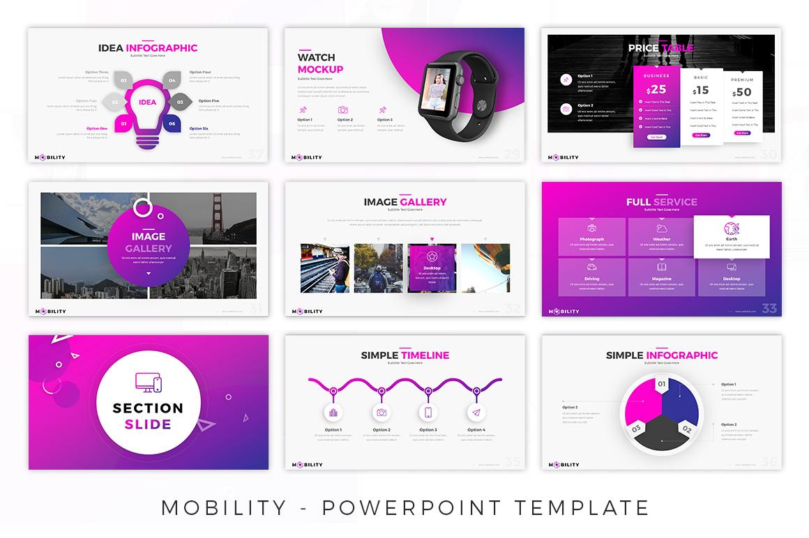 Mobility - Creative Presentation example image 5