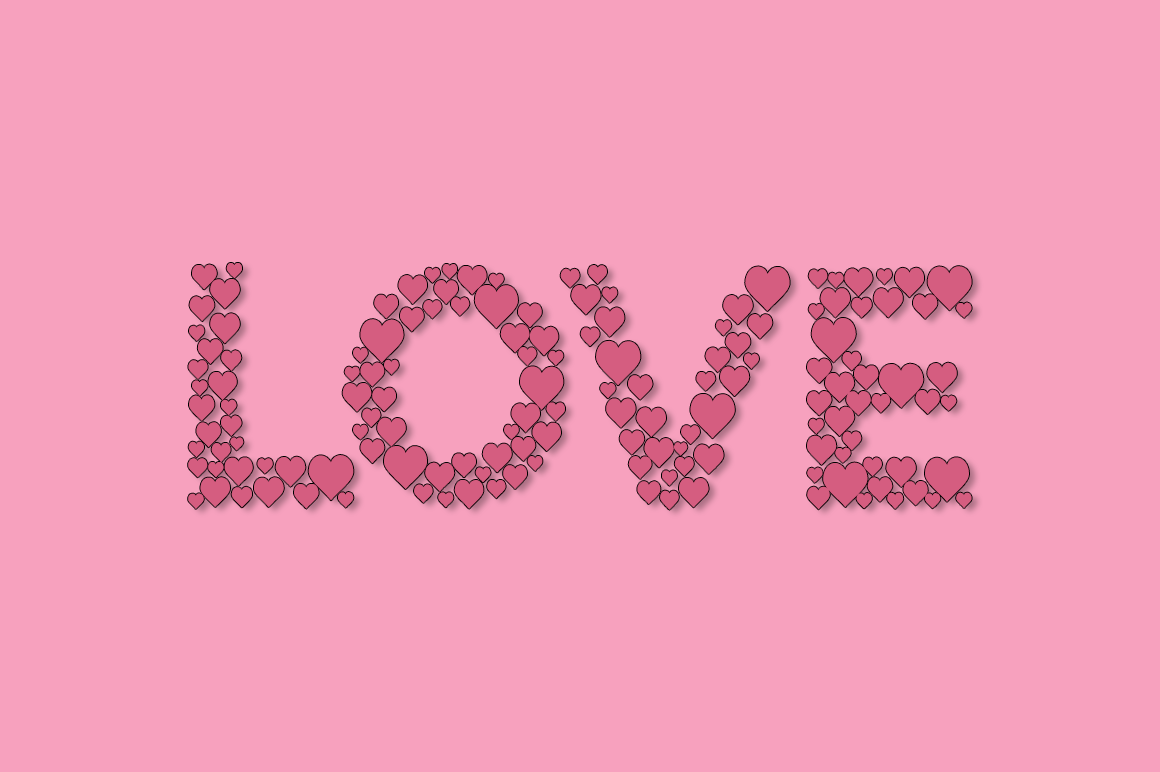 Countless Hearts - A Simple Love Font example image 3
