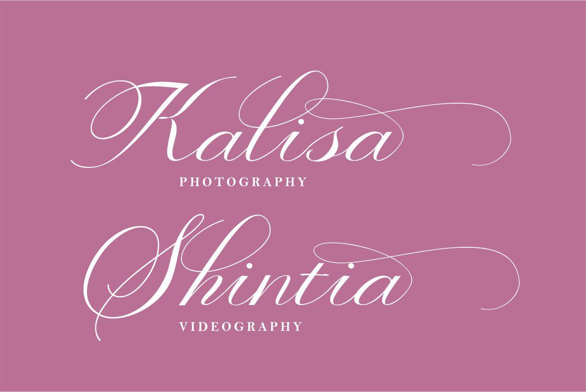 Valetia Script example image 4