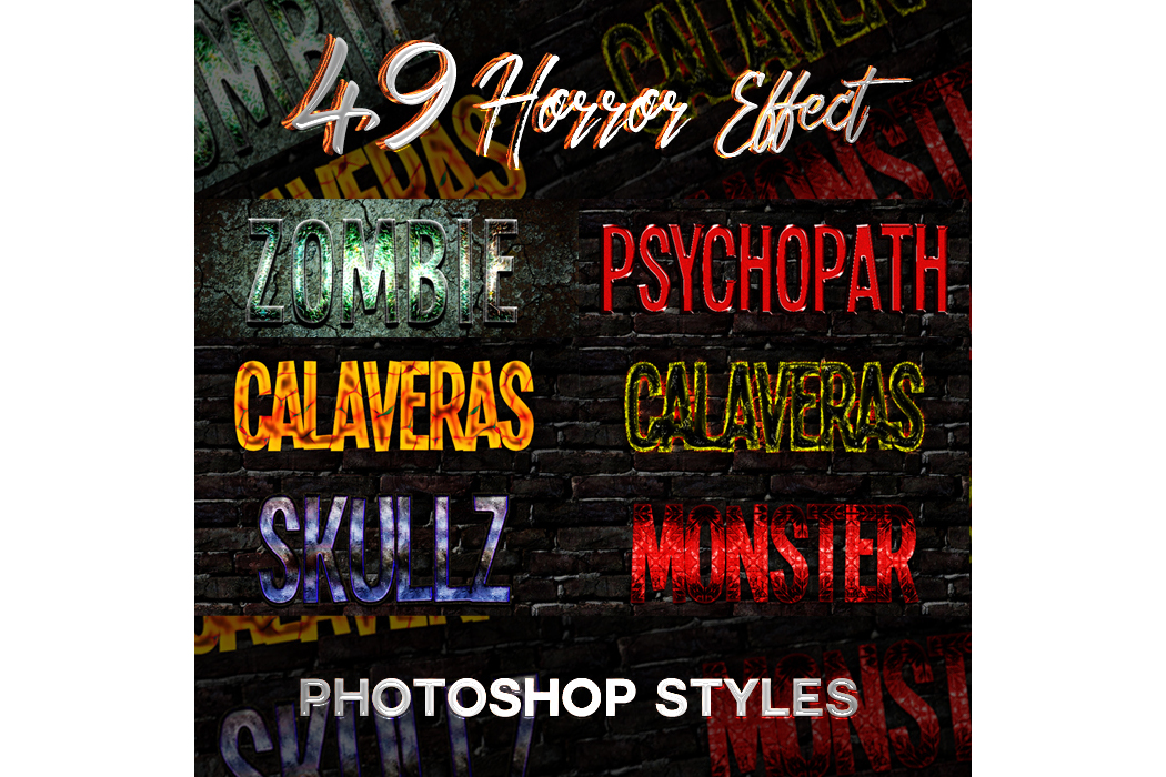 1600+ Mega Bundle Photoshop Styles example image 4