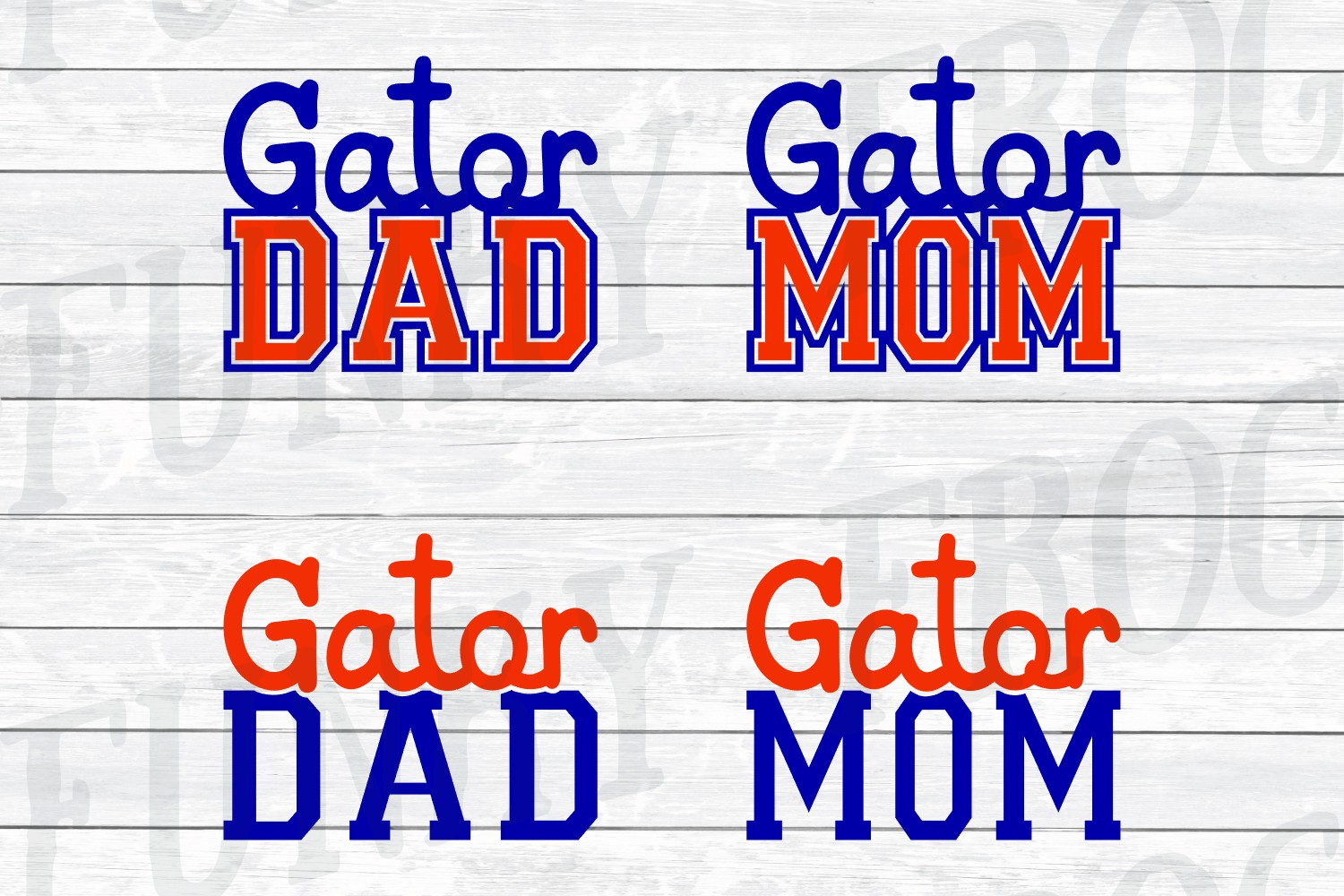 Florida Universities Mom and Dad SVG Cut File Bundle for Cra example image 3