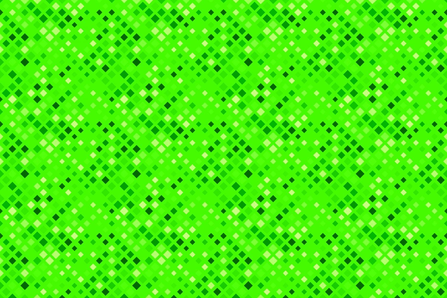 24 Seamless Green Square Patterns example image 20