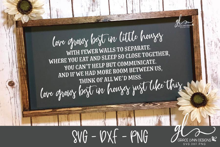 Farmhouse Sign SVG Bundle - SVG, DXF & PNG - 8 Designs example image 4