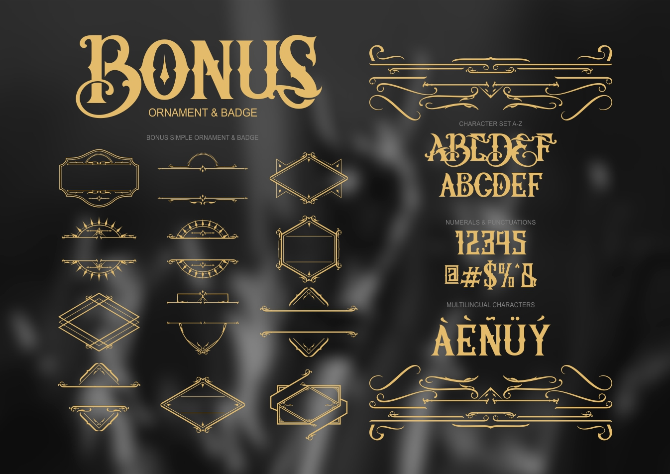 Artedoms typeface example image 3