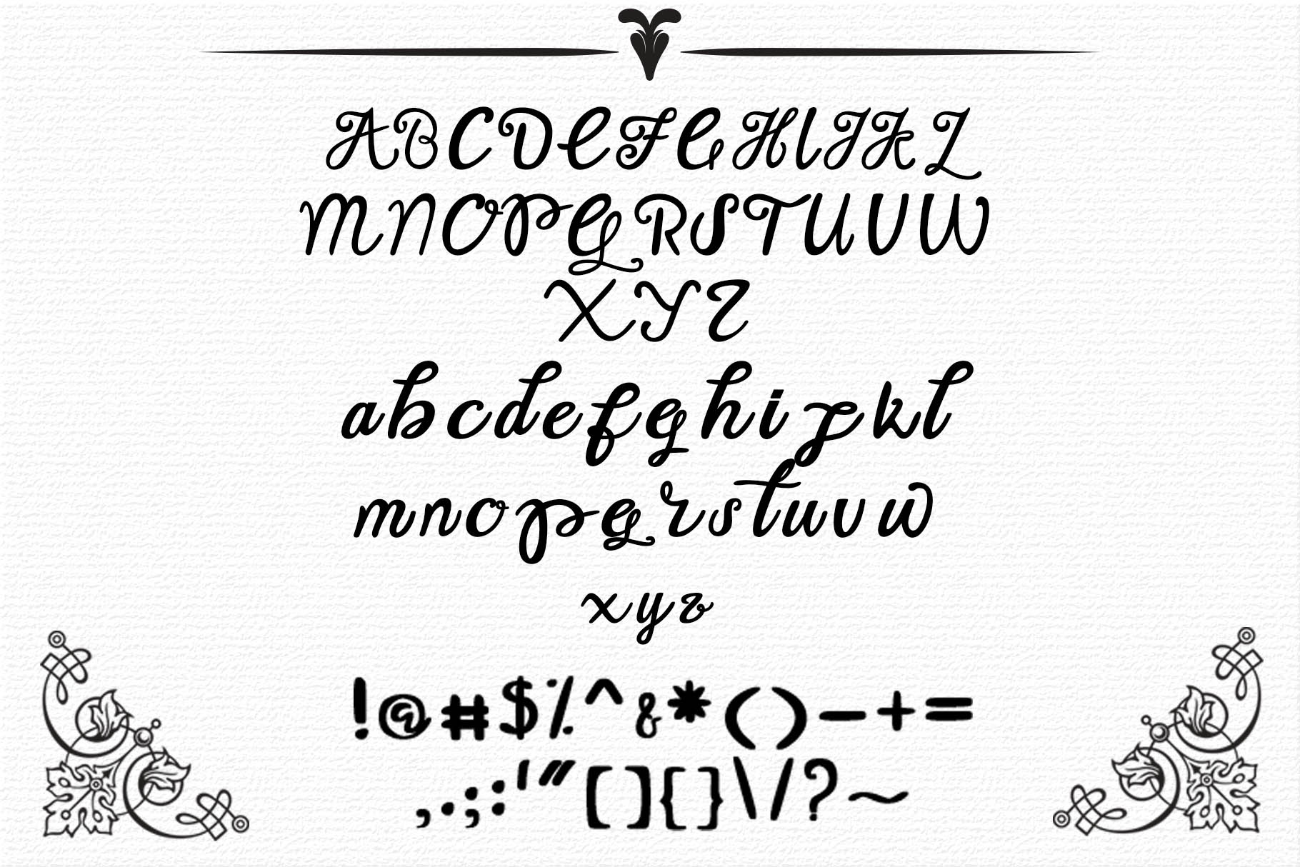 Keith Typeface example image 6
