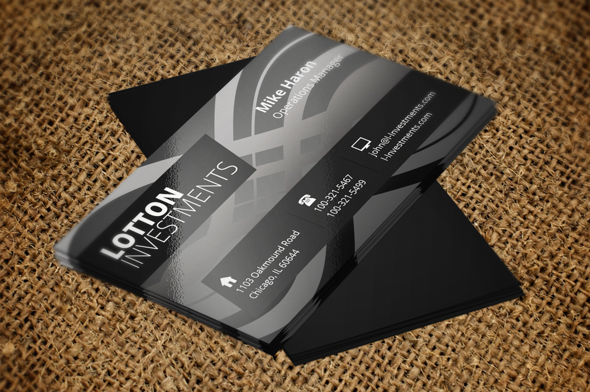 Creative Business Card 4 example image 2