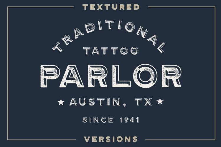 Gastro Pub - Type Family - Font Family example image 5