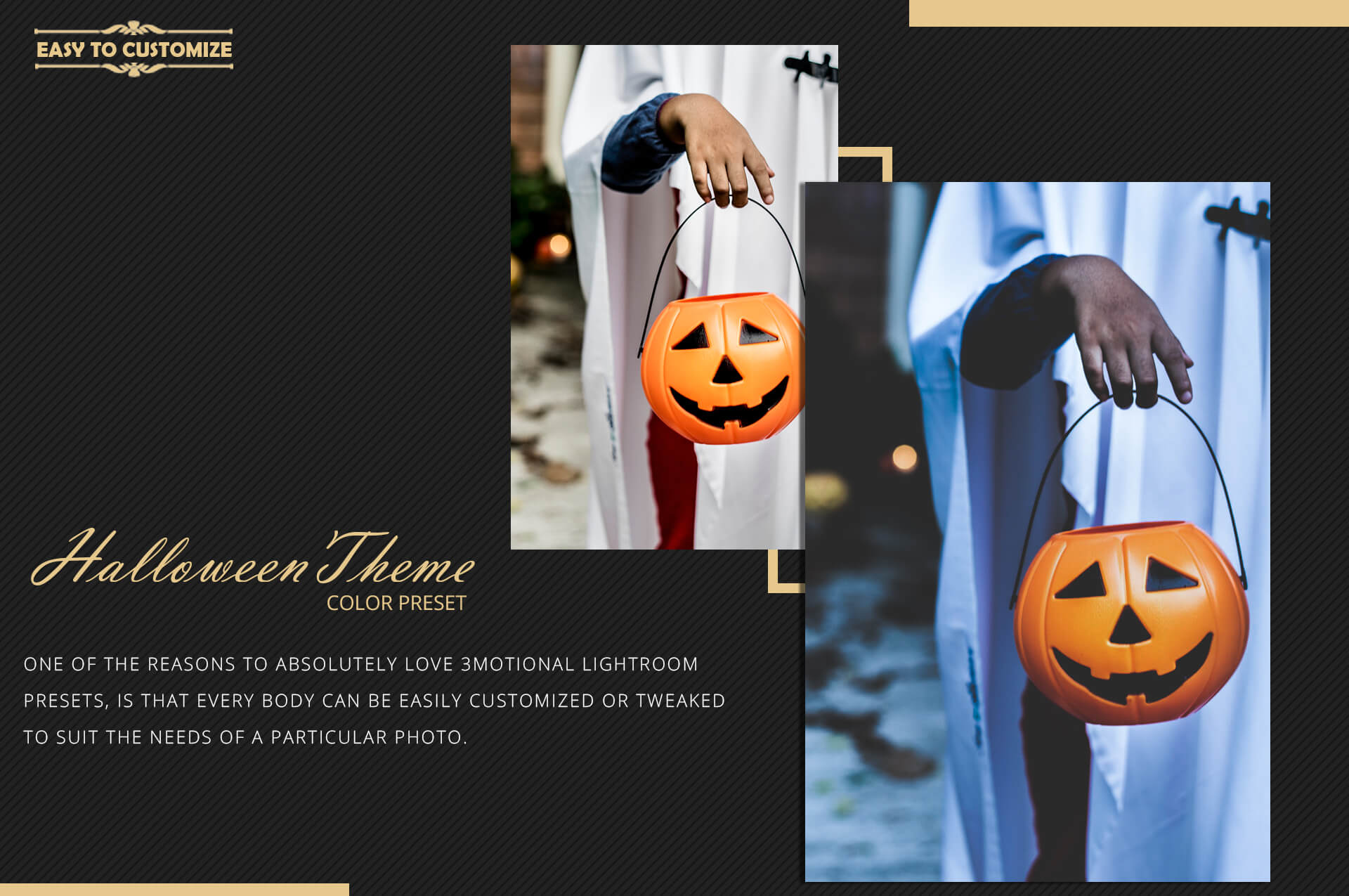 Halloween Theme Collection Color Grading Lightroom presets example image 10