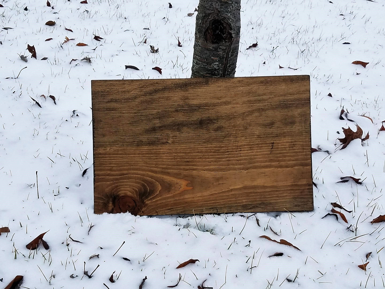 Wood sign Mockups example image 5