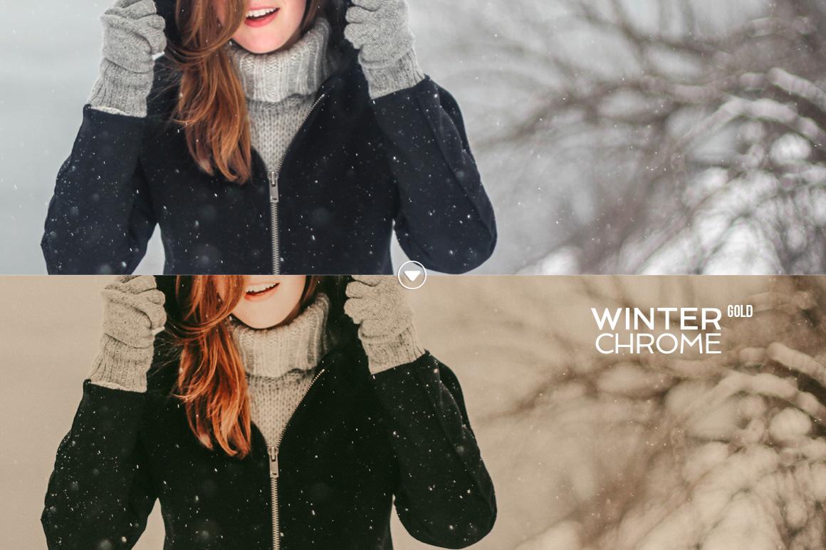 WinterChrome Lightroom Presets example image 7