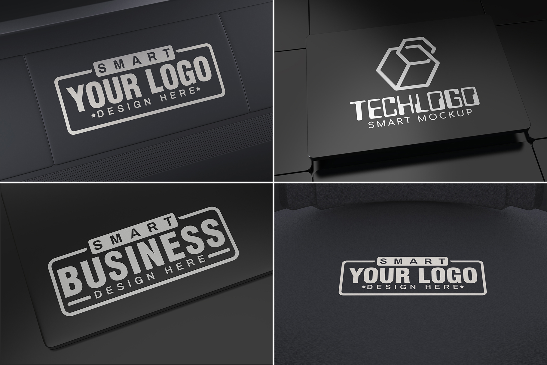 100 Logo Mockups Bundle Vol.3 example image 2