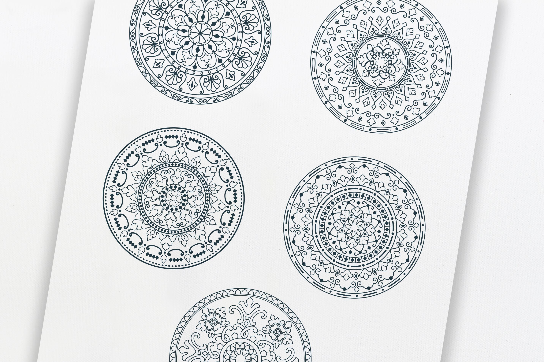 Mandala Ornaments example image 3