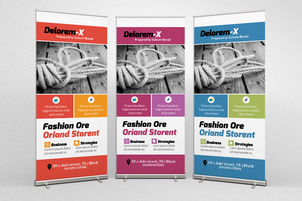 Creative Pro Business Roll Up Banners example image 1
