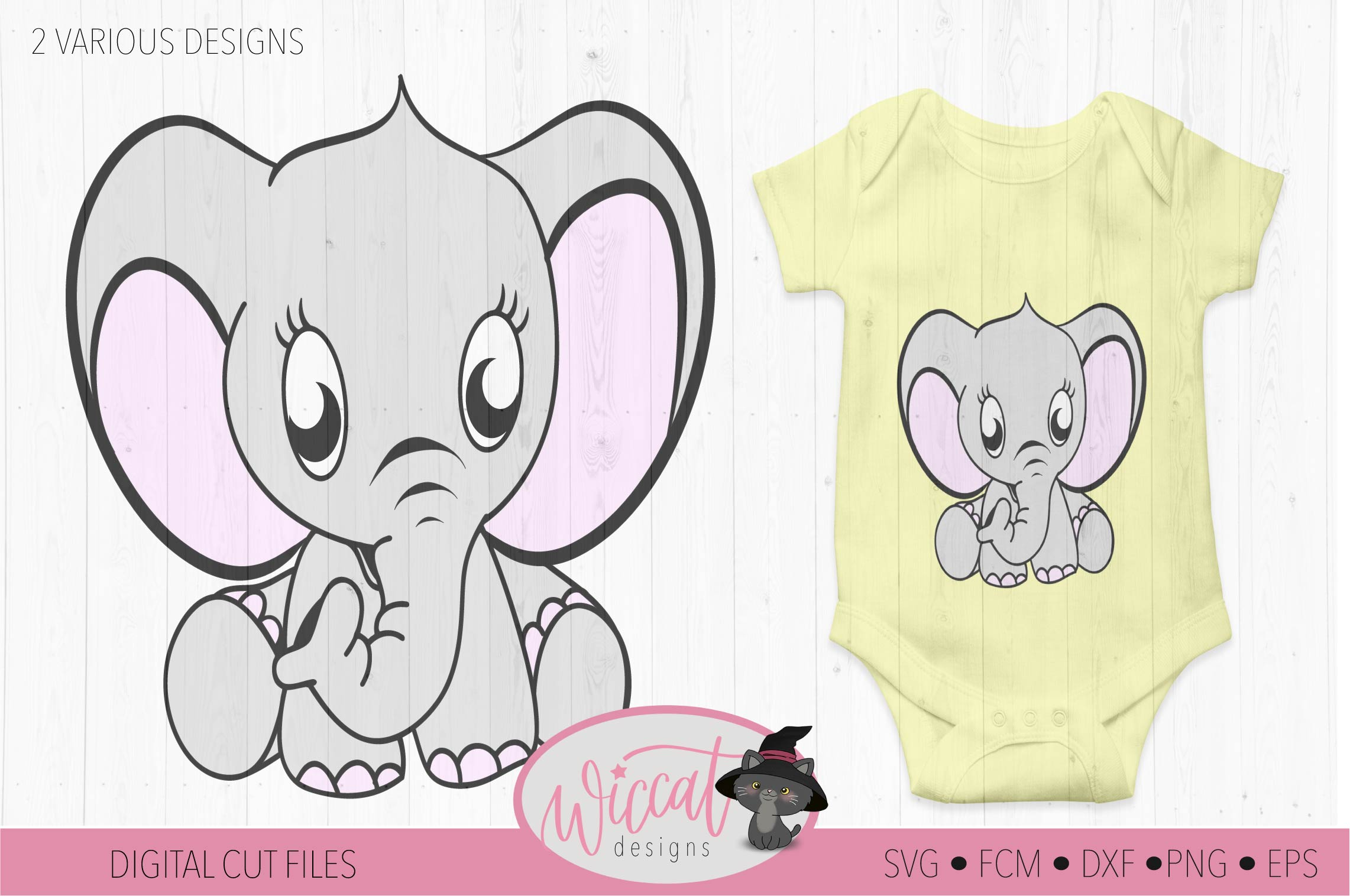 Baby elephant svg, Neutral baby svg, newborn, scanncut example image 2
