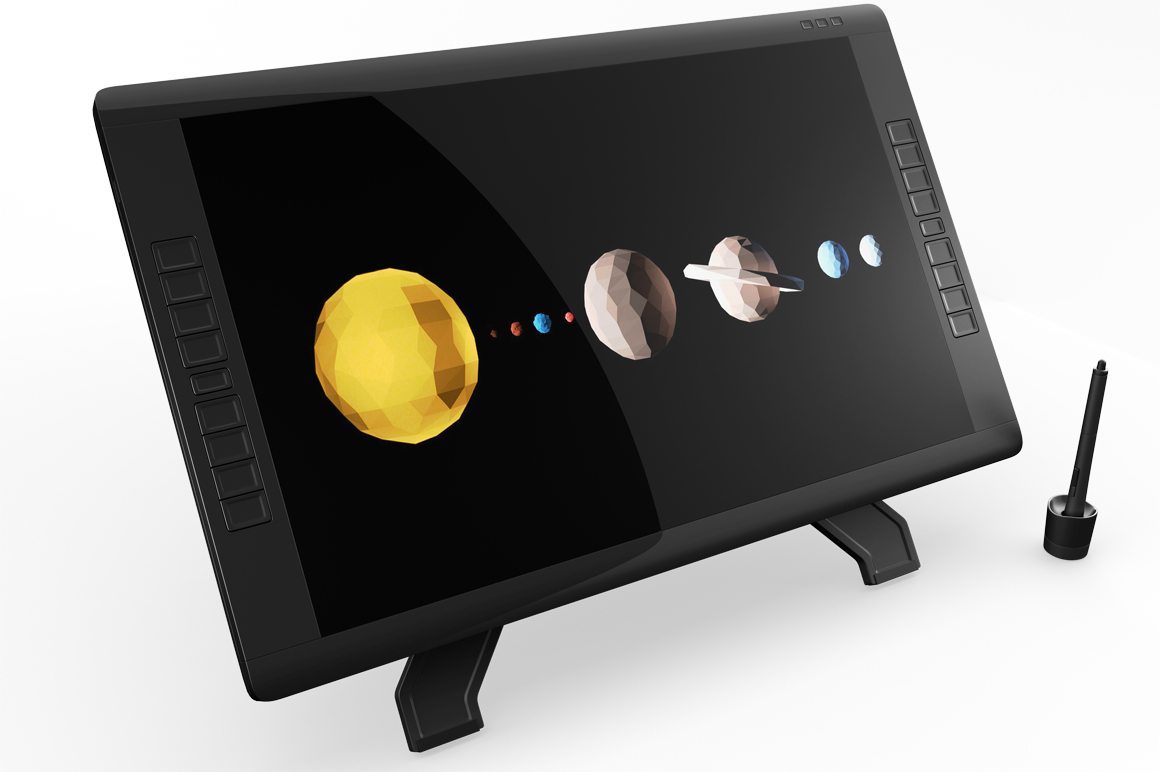 Wacom Graphic Screen Tablet Mockup example image 8