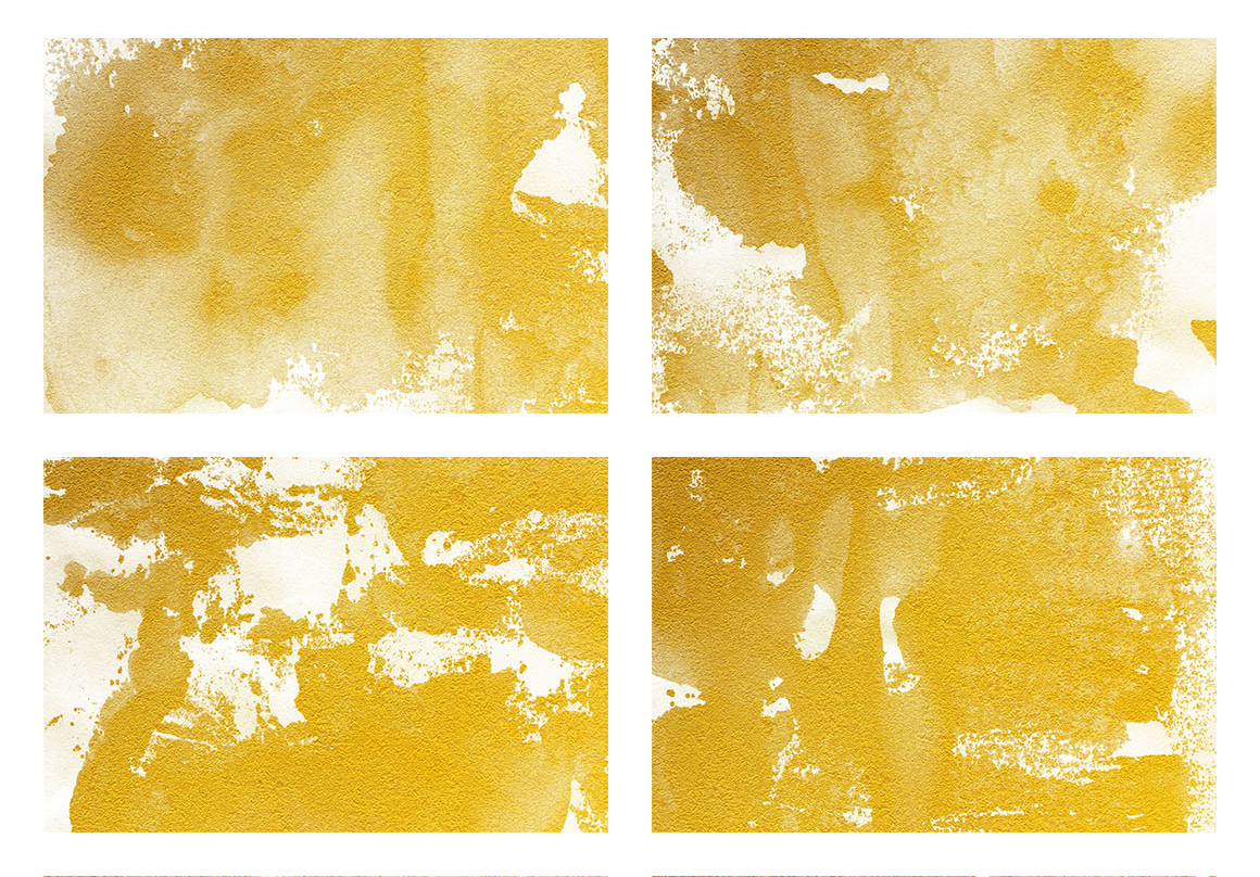 Watercolor Textures White and Gold example image 2