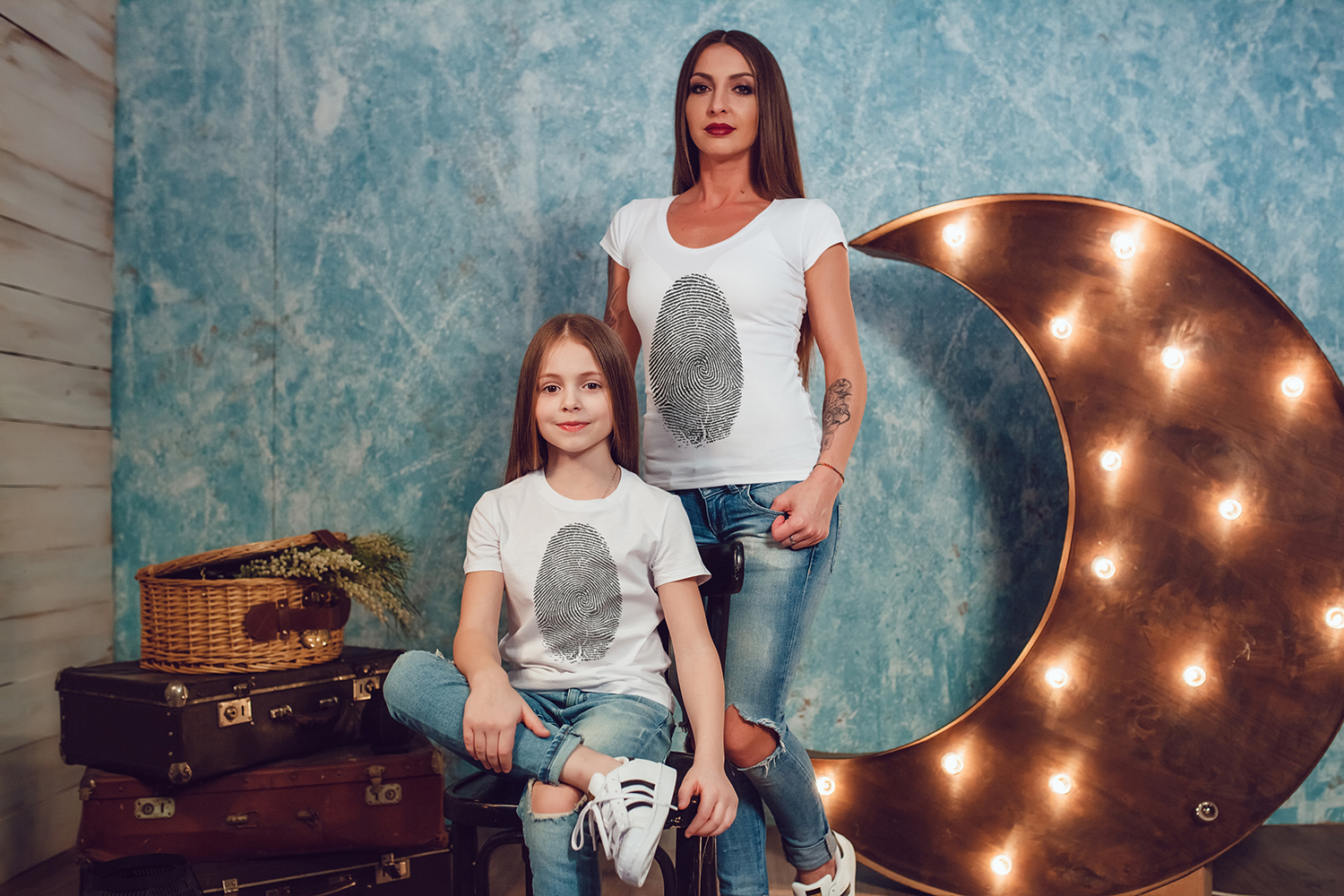 Family T-Shirt Mock-Up Vol.1 2017 example image 6