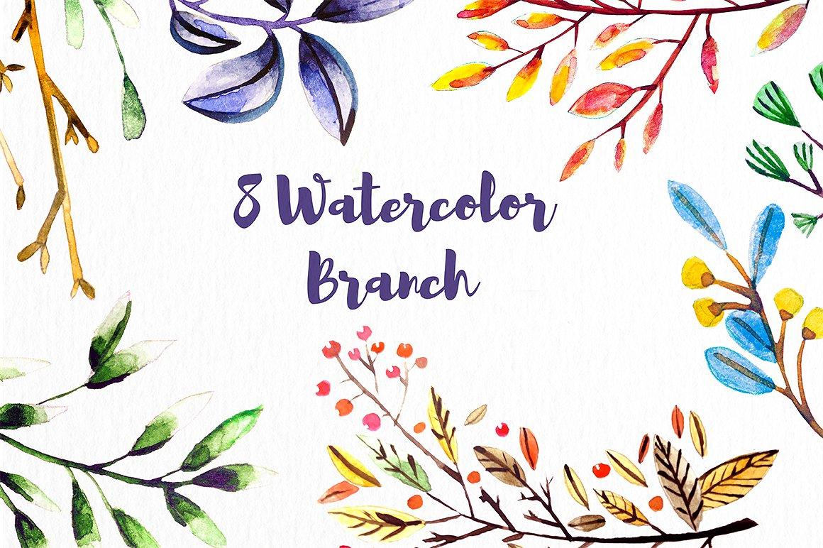 Watercolor Birds example image 3