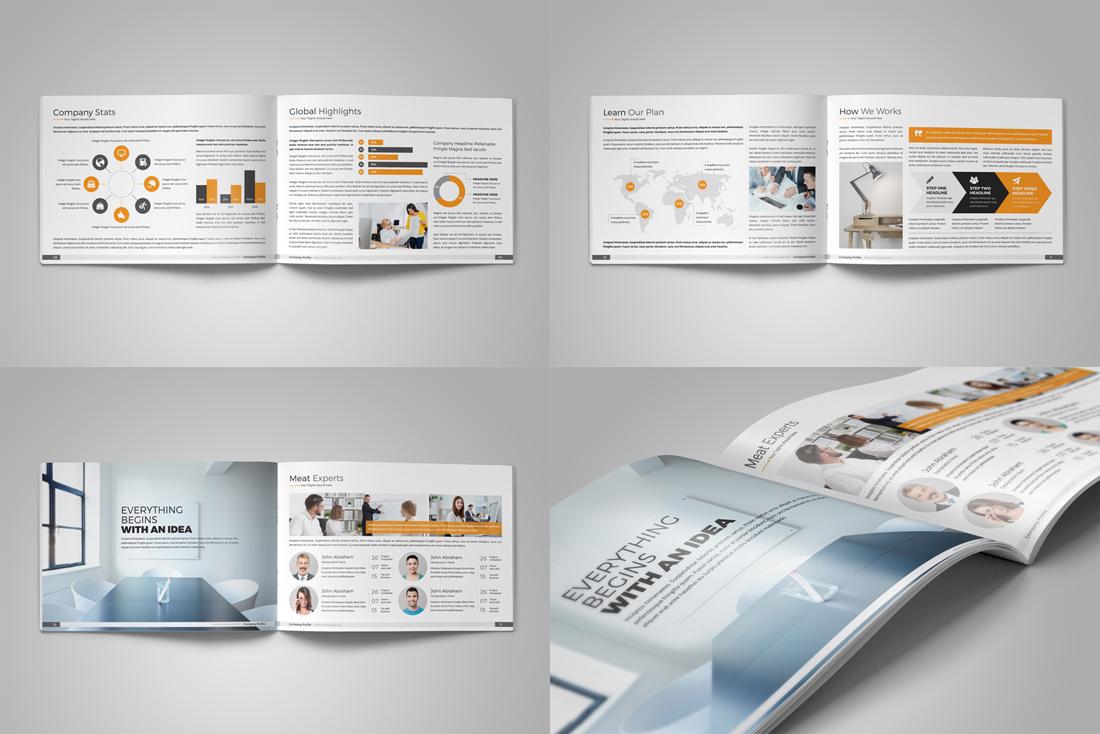 Company Profile Bundle example image 10