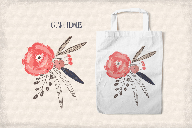 Organic Flowers example image 3