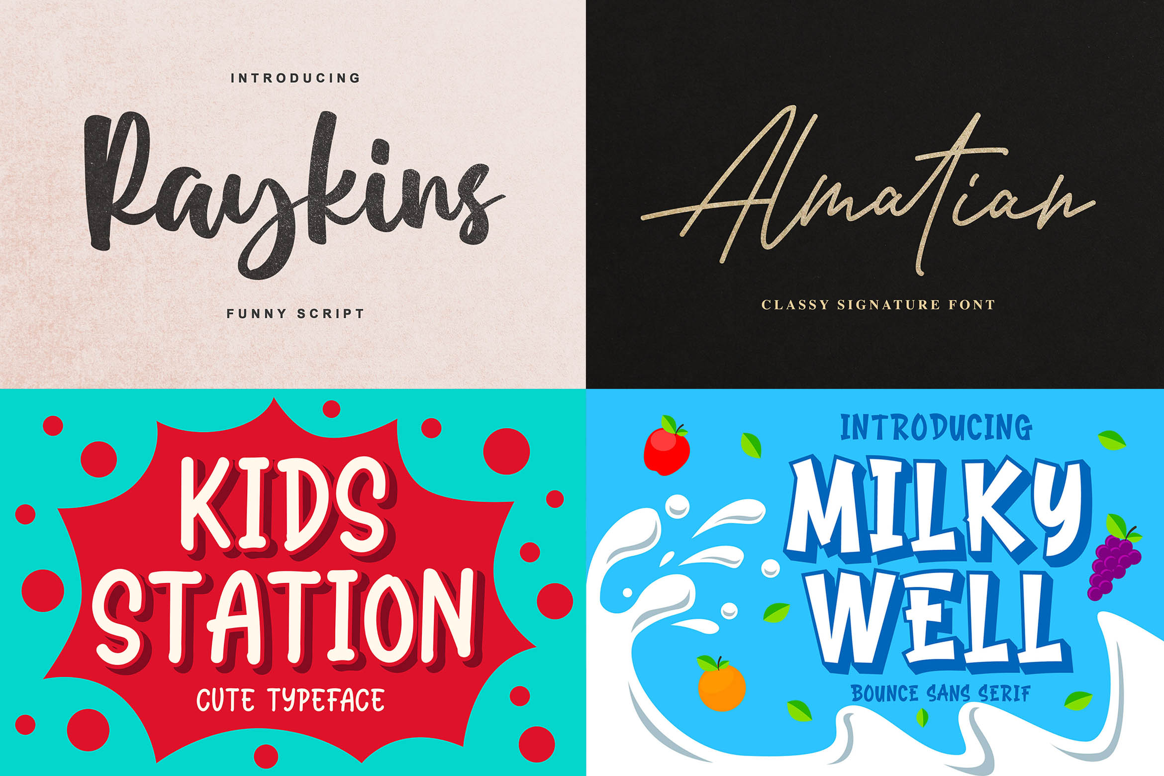 New Year Big Bundle - Crafting Fonts Collection example image 12