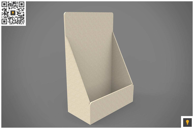 Table Top Display 3D Render example image 7