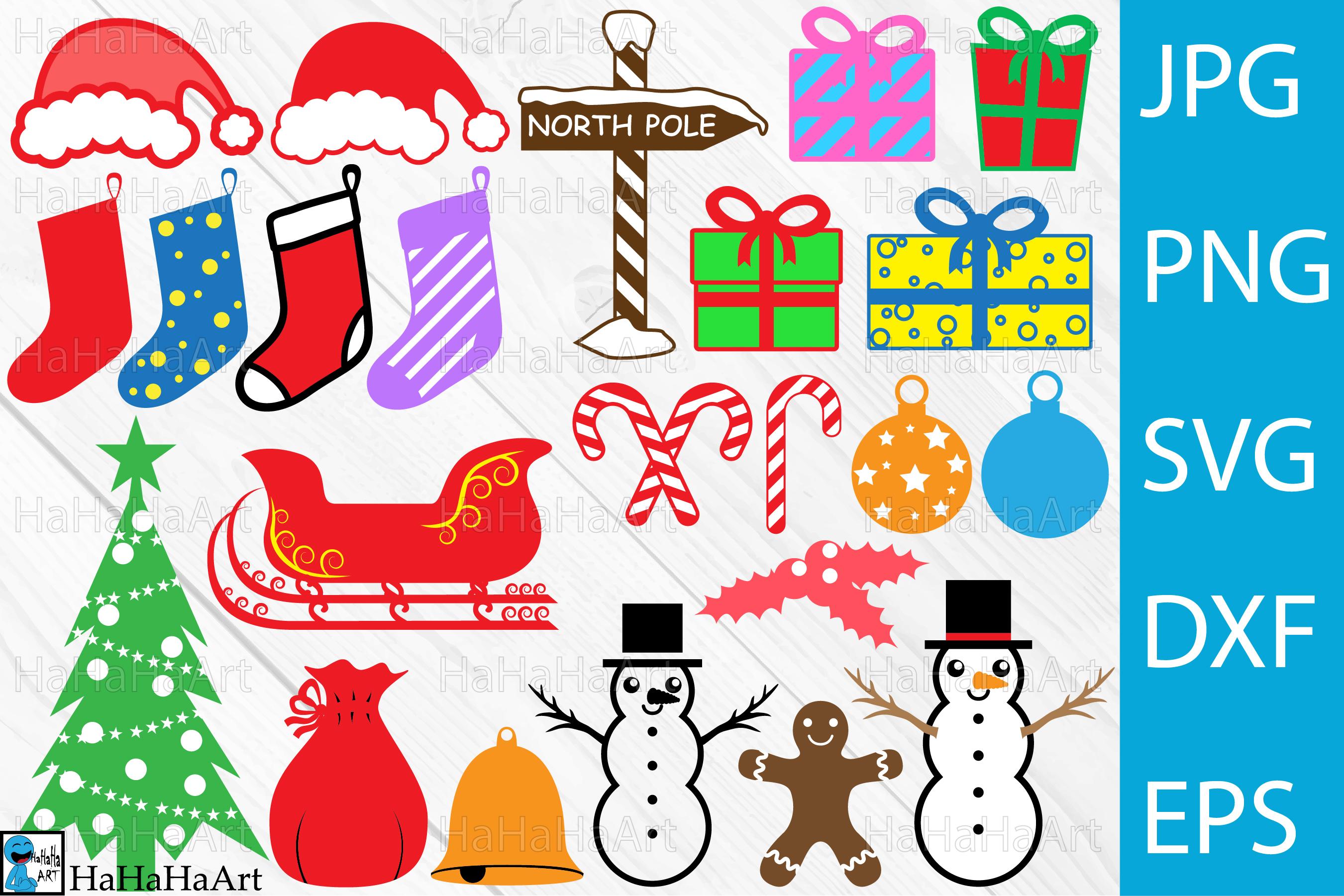 Christmas Designs.Christmas Designs Clip Art Cutting Files 67c
