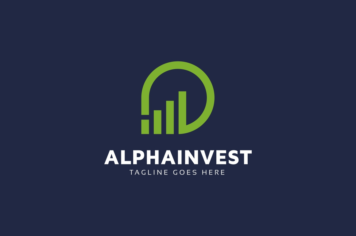 Alpha Invest Logo example image 2