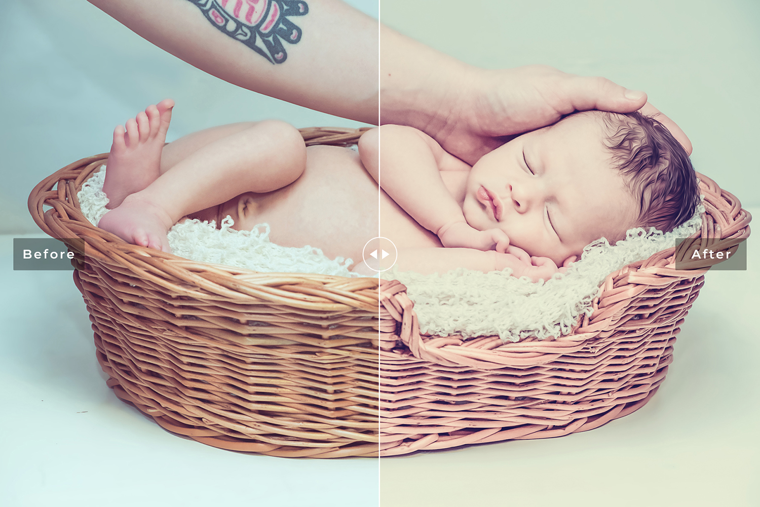 Newborn Photographers Mobile and Desktop Lightroom Presets example image 5