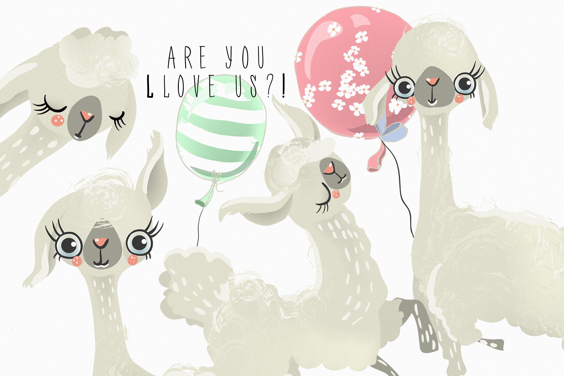 Llovely Llamas example image 3