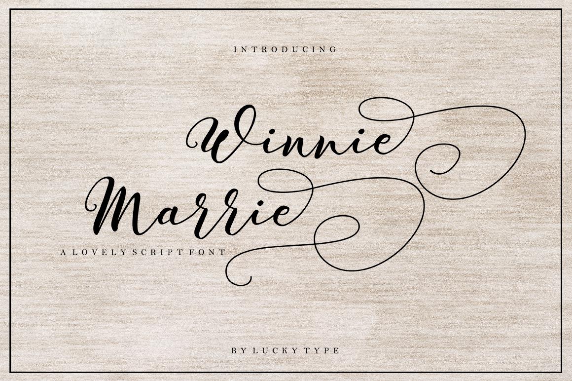 Winnie Marrie Script example image 1