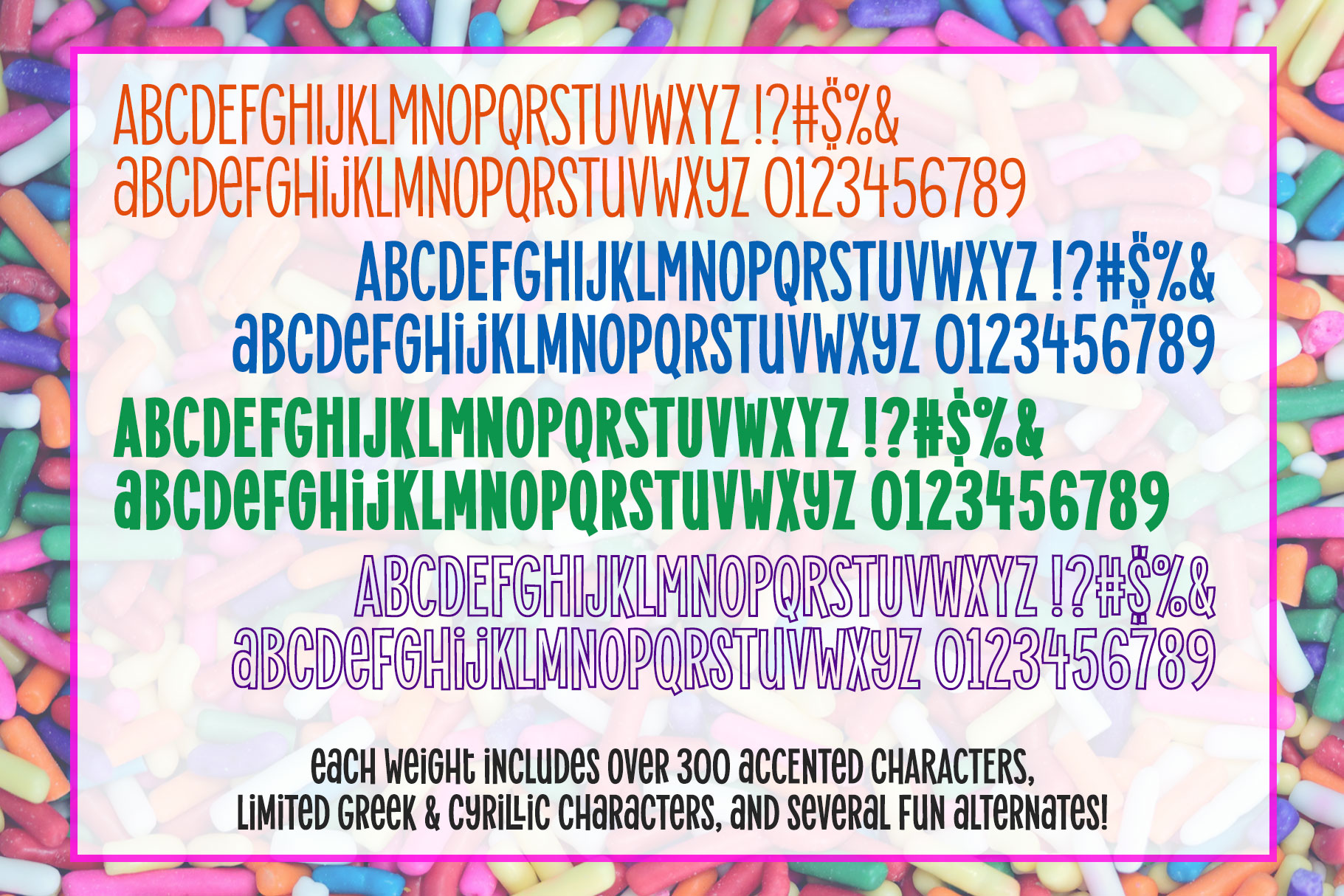 Alimentary - a hip and retro font family! example image 2