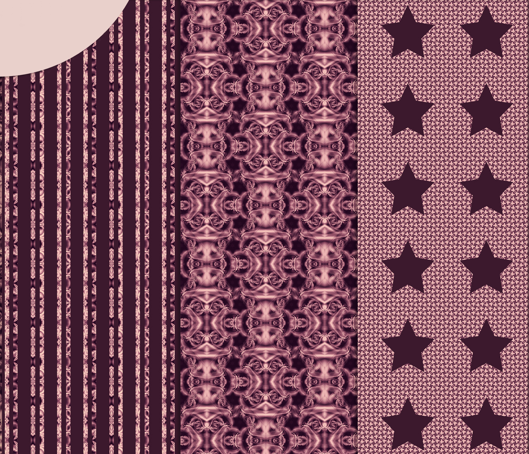 Burgundy abstract Scrapbook Paper example image 4