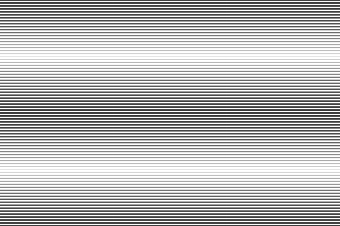 Striped halftone seamless patterns example image 7