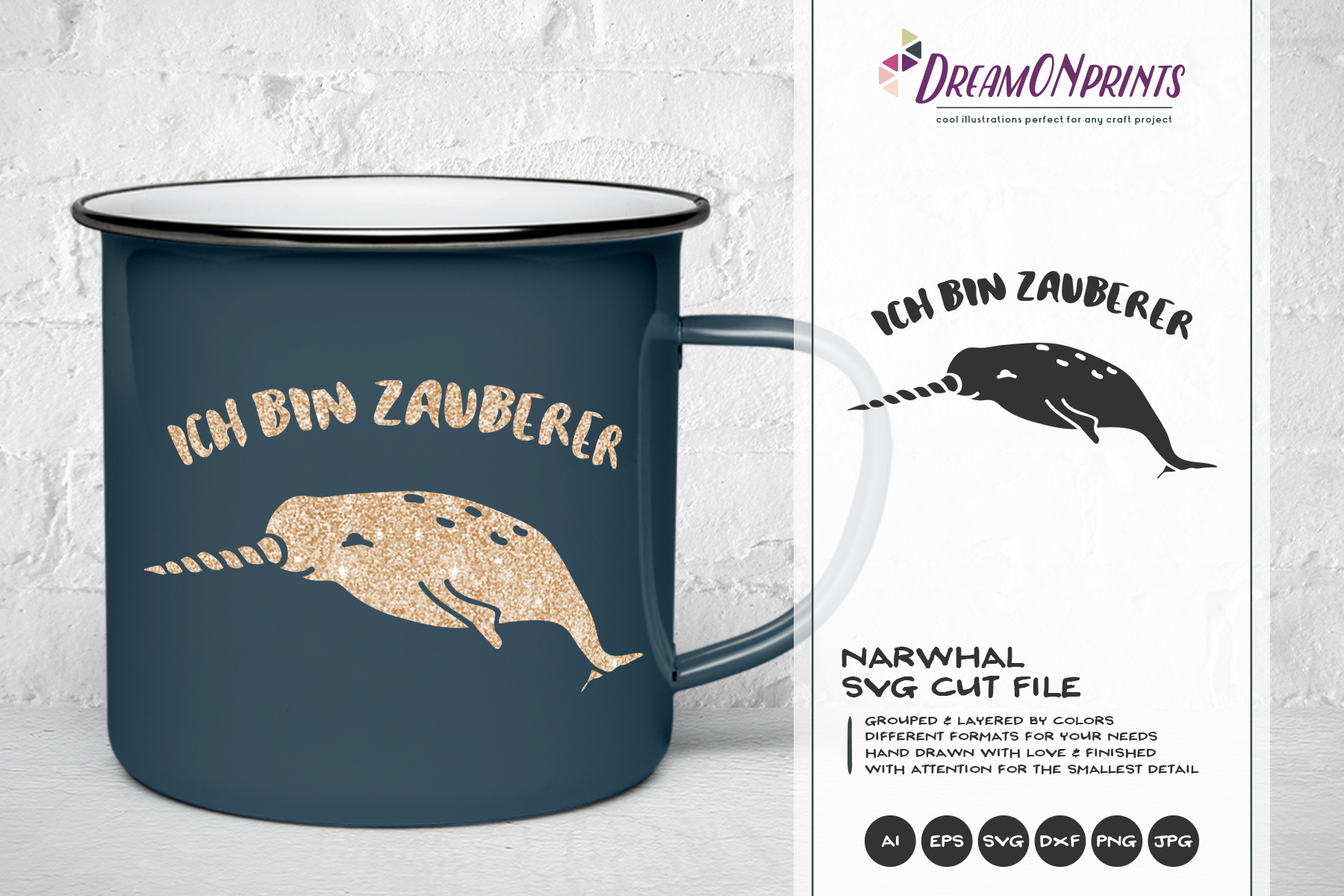 The Quirky Animals - GERMAN SVG Cut Files | Funny SVG Bundle example image 8