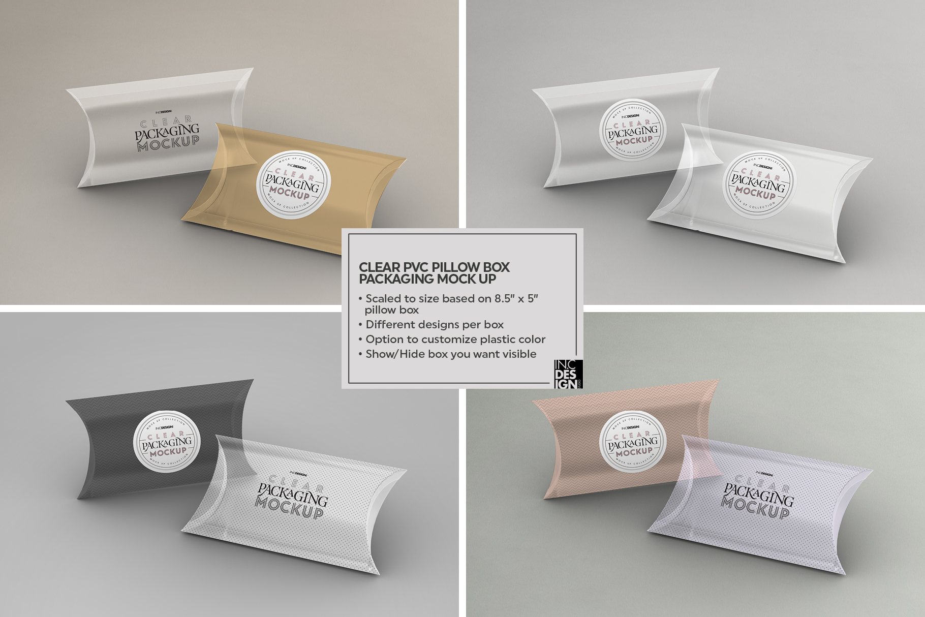 VOL.2 Clear Packaging Mockup Collection example image 17