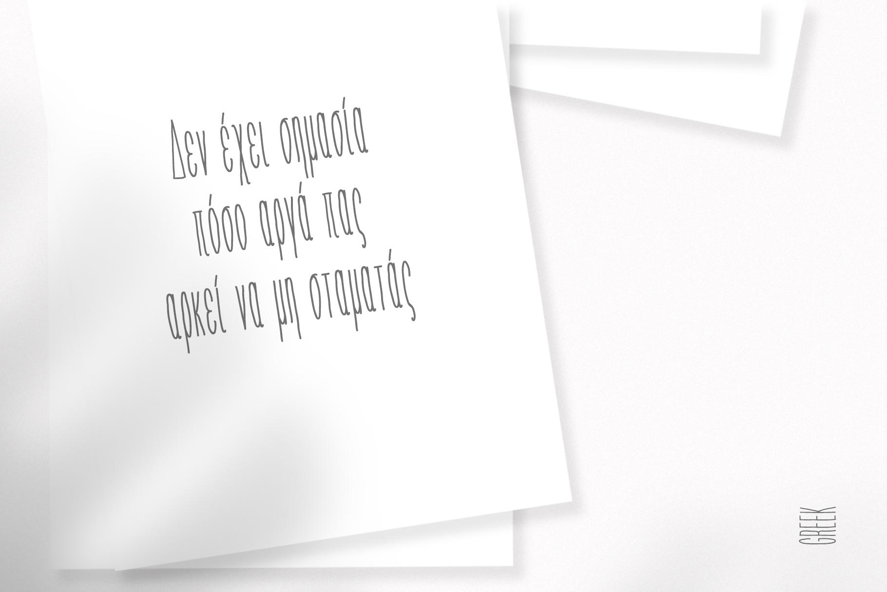 LÜKA | HandWritten Multilingual Font example image 9