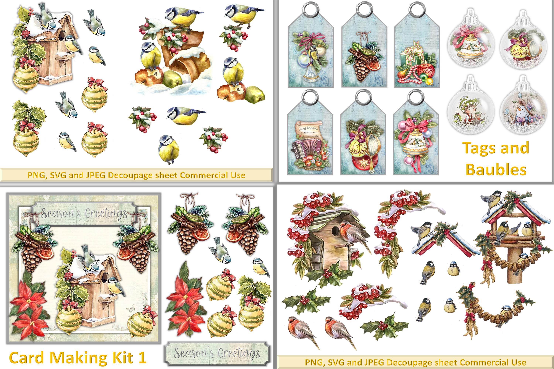 Mega Christmas Craft Bundle COmmercial Use example image 2