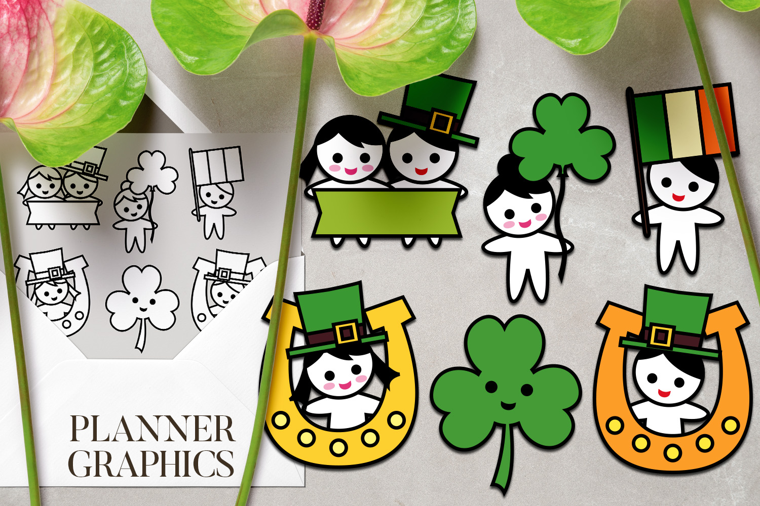 Holidays Bundle - Planner Graphic Illustrations example image 20