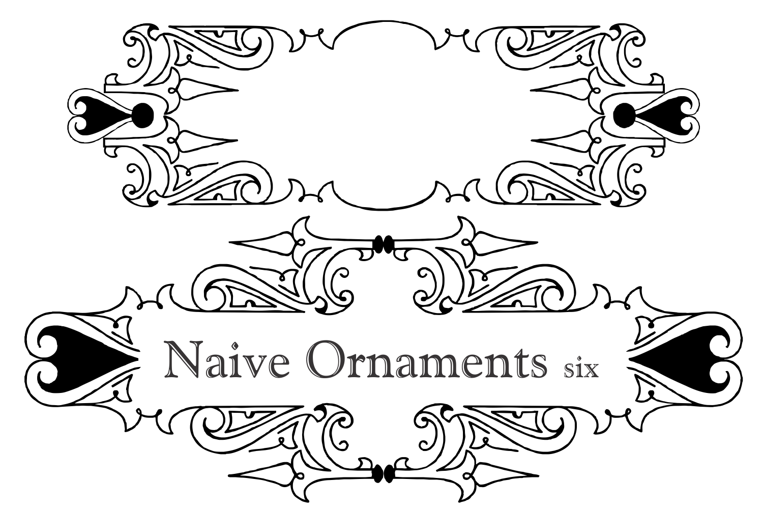 Naive Ornaments Six example image 6